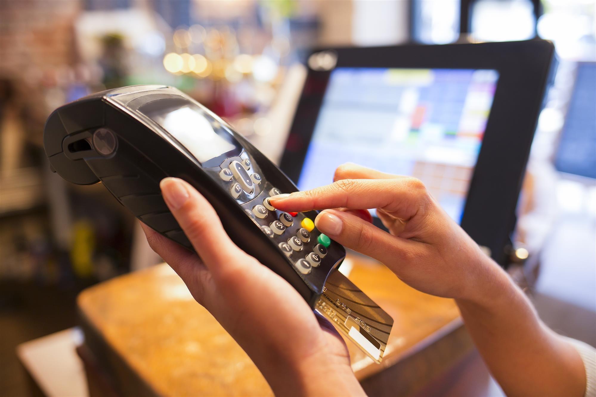 Credit Cards machine