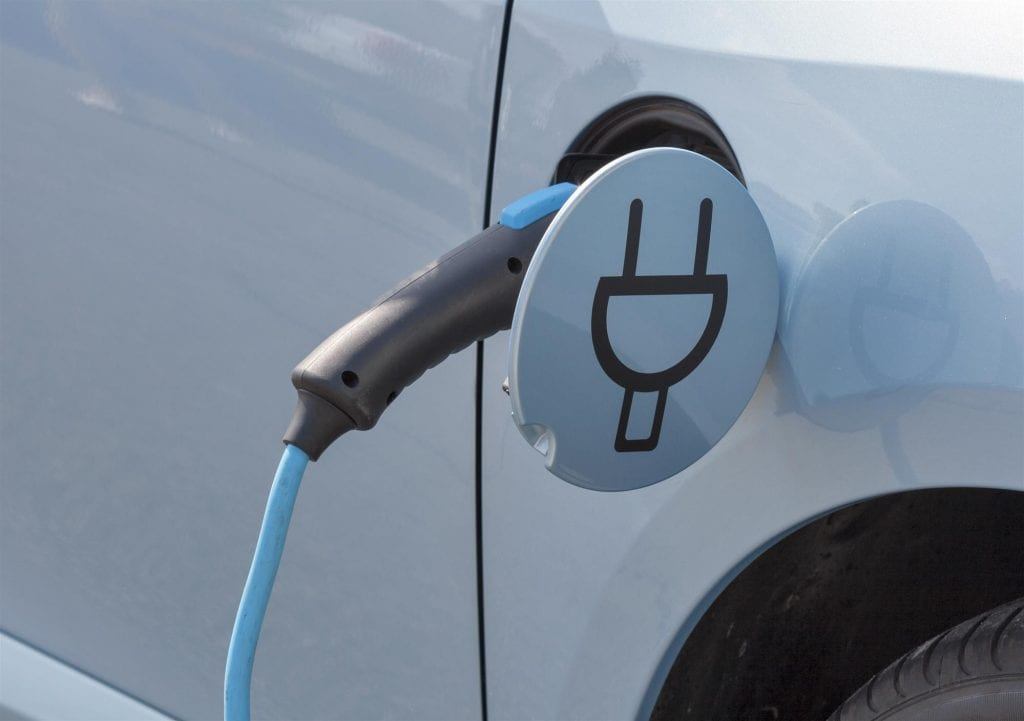 electric or hybrid electric vehicle