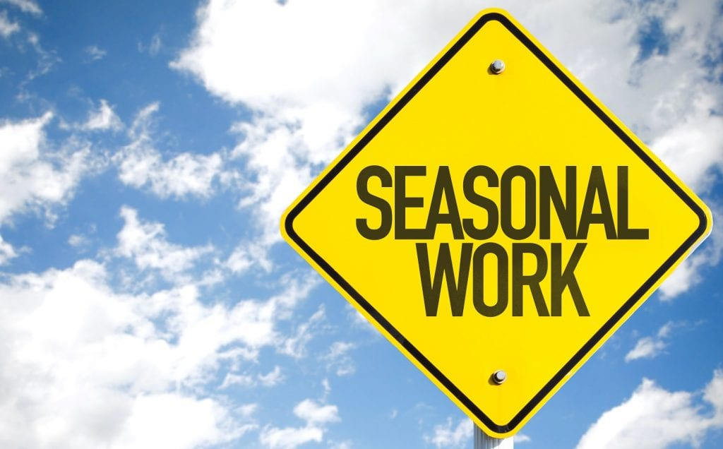 Seasonal-work-sign