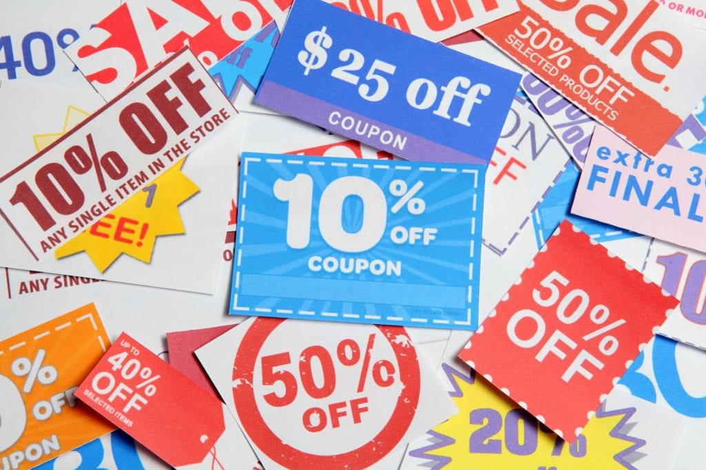 Shopping Coupons